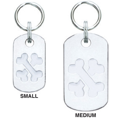Medium/Large Doggie Tag Pet ID Tags