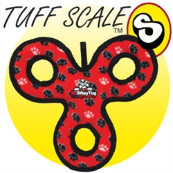 Tuffy's Ultimate Jr. 3-Way Tug - Red Paw