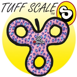 Tuffy's Ultimate Jr. 3-Way Tug - Pink Leopard