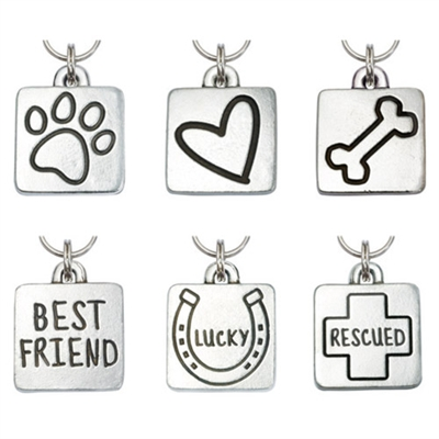Square Pet ID Tags