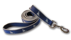 Los Angeles Dodgers Dog Leashes - Reflective ***1 Small left***
