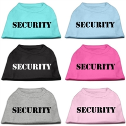 Security Screen Print Shirts