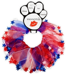 Patriotic Red, White and Blue Star Smoochers