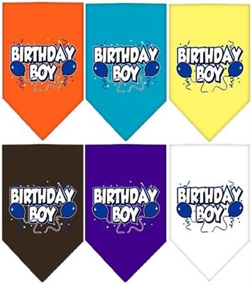Birthday Boy Screen Print Bandana
