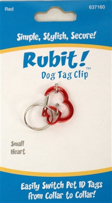 Small Heart Clips Case of 12 for Refilling Store Display