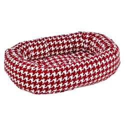 Donut Bed Canterbury Check Microvelvet