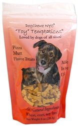 Organic Pizza Mutt Toy Temptations Dog Treats by DogChewz NYC
