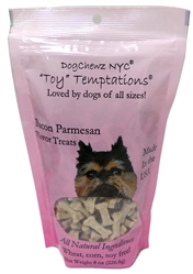 Organic Bacon Parmesan Toy Temptations Dog Treats by DogChewz NYC