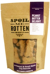 Peanut Butter Delight Artisan Dog Biscuits - 6 oz