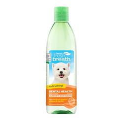 Fresh Breath Dental Health Solution Supports Skin Health for Dogs, 16oz. Bottle