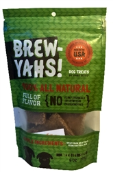 6 oz. Brew Yahs!  Spent Grain Beer Treats Pouch
