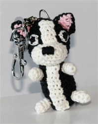 Dog Star Collectable Keychains - Boston Terrier - 2 Pak