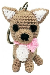 Dog Star Collectable Keychains - Chihuahua - 2 Pak