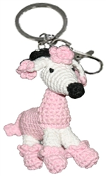 Dog Star Collectable Keychains - Poodle - 2 Pak