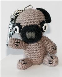 Dog Star Collectable Keychains - Pug - 2 Pak