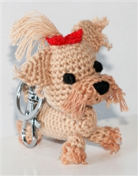 Dog Star Collectable Keychains - Yorkie - 2 Pak