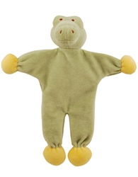 "Gary 9"" Alligator - Stuffless Toy w/Crinkle"