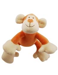 "Petite 6"" Oscar Monkey w/ Squeaker"