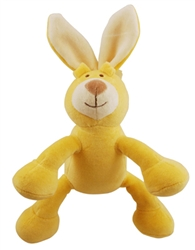 "Petite 6"" Lucy Bunny w/ Squeaker"