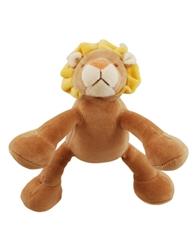 """Petite 6"""" Leo Lion w/ Squeaker"""
