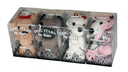 Dog Star Keychains - 16 Pack - 2 ea