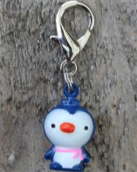 Jingle Bell Penguin Dog Collar Charm