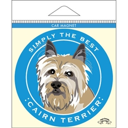 Cairn Terrier - Car Magnet