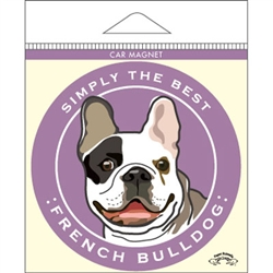 French Bulldog - Car Magnet