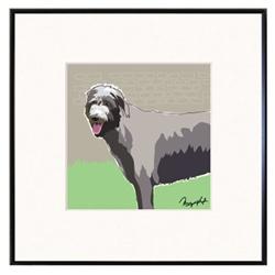 Framed Print: Irish Wolfhound