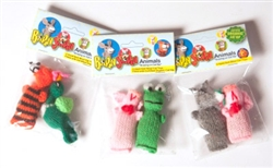 2 Packs of Barn Yard Animal - Cat Toys with Header Card
