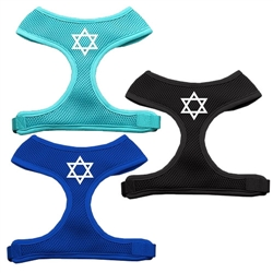 Star of David Screen Print Soft Mesh Harness