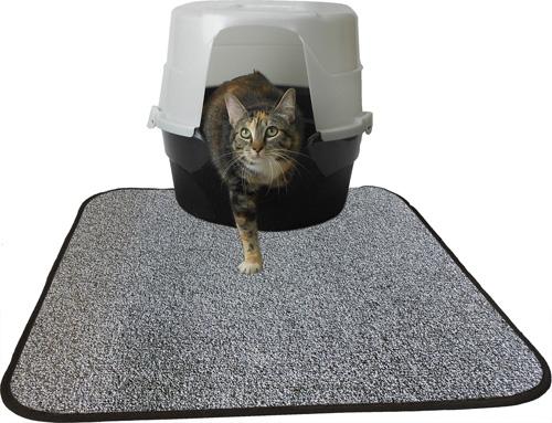 Heavy Duty Litter Mat - Charcoal