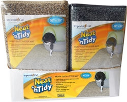 Neat 'N Tidy Heavy Duty Litter Mats - Mixed Display Case of 6