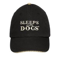 BARKOLOGY® SLEEPS WITH DOGS® - BLACK