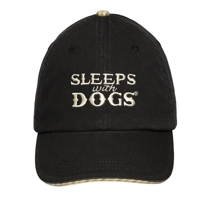 BARKOLOGY® SLEEPS WITH DOGS® - BLACK