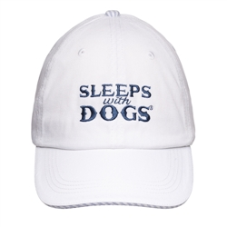 BARKOLOGY® SLEEPS WITH DOGS® - WHITE