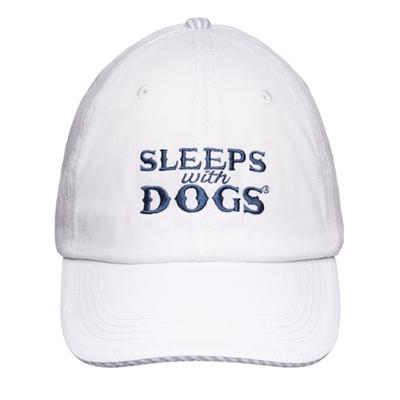 BARKOLOGY® SLEEPS WITH DOGS® - WHITE