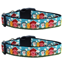 Barnyard Buddies Nylon Ribbon Collars & Leads