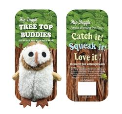 "2pk 10"" Owl Plush Toys with Squeaker -Tree Top Buddies"