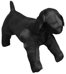 Black Satin Dog Mannequins by Leg Avenue