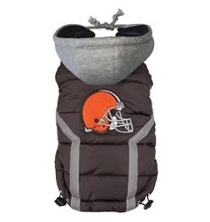 Cleveland Browns Dog Puffer Vest