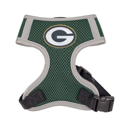 Green Bay Packers Dog Harness Vest