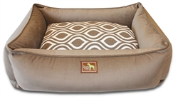 Coco Lounge Bed w/Flicker Brown
