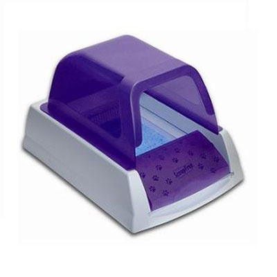 Purple ScoopFree self-cleaning Ultra Litter Box