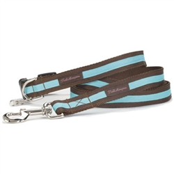 Chocolate/Turquoise Stripe Collection