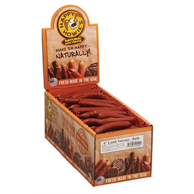 """4"""" Deli-Style Sausages - Small Bulk Case of 80"""