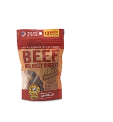 Beef Burgers Treats - Packaged