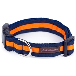 Navy/Bright Orange Stripe Collection