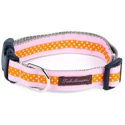 Pink/Orange Mini Polka Collection