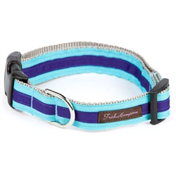 Turquoise/Deep Purple Stripe Collection